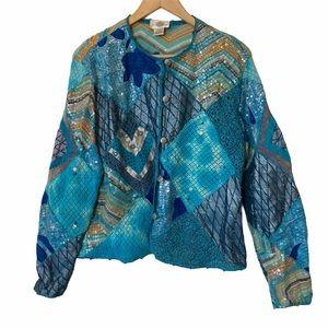Sandy Starkman Embroidered Jacket